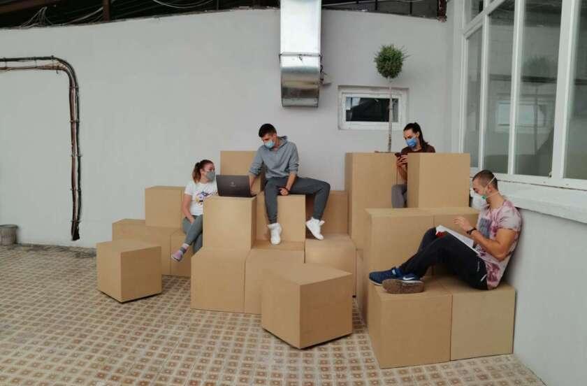 "Студентите од ""Пелагонија"" добија нов простор за учење и дружење"